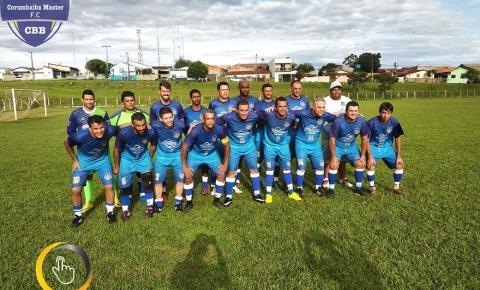 Equipe Corumbaíba Master F.C vence mais uma e passa a próxima fase do Campeonato Regional Master
