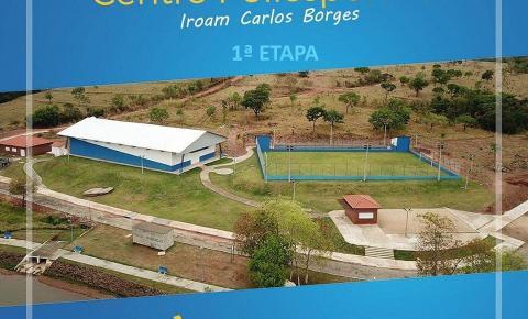 Em Corumbaíba irá acontecer a entrega Centro Poliesportivo Iroam Carlos Borges