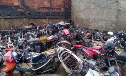 DERFRVA participa de operação da SSP contra comércio ilegal de motocicletas