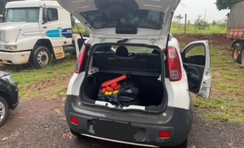 Genarc de Catalão apreende 20 quilos de maconha transportada em rodovia; dois foram presos