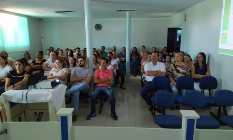 Profissionais da Saúde de Corumbaíba participam de palestra sobre Coronavírus