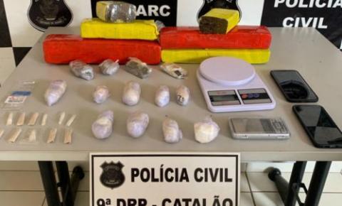 Universitários são presos em Catalão por tráfico de drogas