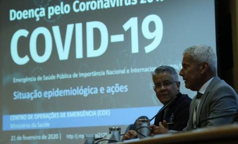 Coronavírus já somam  13 casos no Brasil