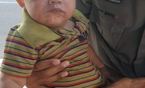 Policiais militares rodoviários de Corumbaíba salvam criança engasgada