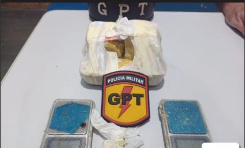 26° BPM/CPT NO COMBATE AO CRIME DE TRÁFICO DE DROGAS