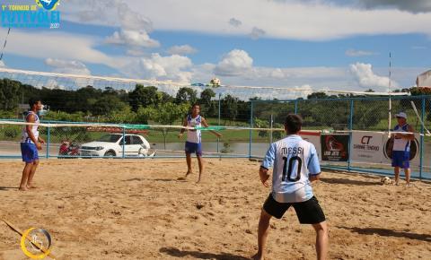 Hoje aconteceu as quartas de Final do 1º Torneio de Futevôlei de Corumbaíba