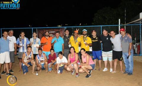 Termina o 1º Torneio de Futevôlei de Corumbaíba