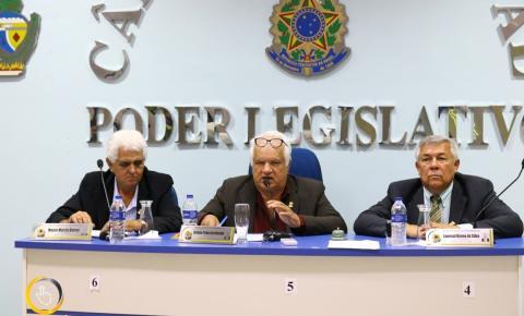 Câmara de Vereadores de Corumbaíba vota projetos do Executivo Municipal