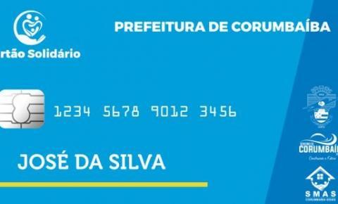 Prefeitura de Corumbaíba antecipa pagamento do Cartão Solidário