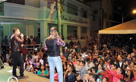 1º Show Gospel de Daniel e Samuel é realizado em Corumbaíba