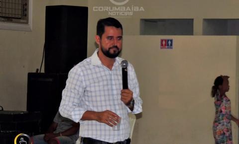 Primeira Palestra de Pais da Escola da Inteligência  na cidade de Corumbaíba