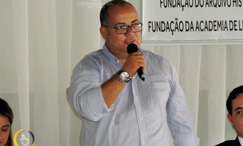 Lançamento do Departamento do Patrimônio Histórico Material e Imaterial da Cidade de Corumbaíba.