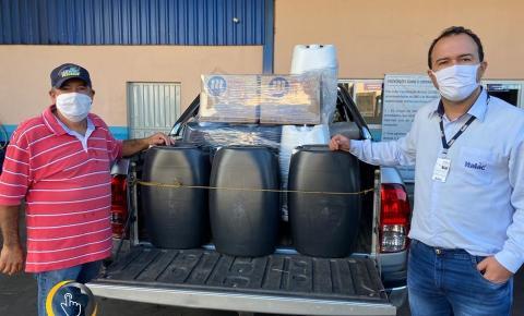 Italac doa produtos de limpeza, higiene e assepsia para o Hospital Municipal, e Hipoclorito de sódio