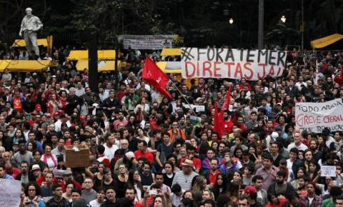 Centrais sindicais marcam nova greve geral para junho