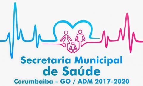 Comunicado da Secretaria de Saúde de Corumbaíba