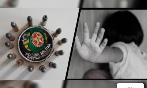 Dois indivíduos são presos em flagrante em Caldas Novas suspeitos de estrupar uma criança.