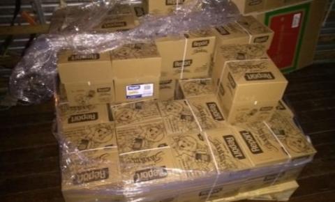 Polícia Civil prende suspeitos de receptação de carga de celulose; flagrante foi feito pela Deic em Caldas Novas