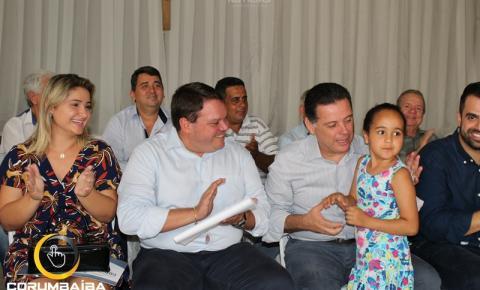 Visita do governador Marconi Perillo em Corumbaíba