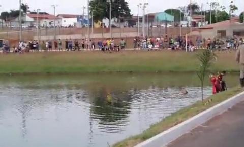 Jovem morre afogado em morrinhos nesse Domingo