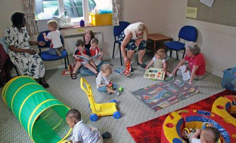 Creche municipal permanecerá  aberta durante as férias em Corumbaíba