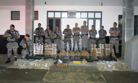 Dois são presos em Corumbaíba com grande quantidade de drogas