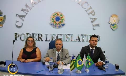 Na cidade de Corumbaíba, Mesa Diretora foi composta para biênio 2021-2022