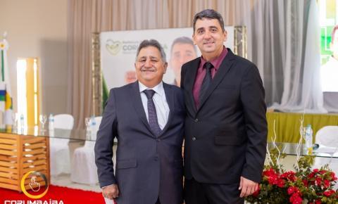 Em Corumbaíba Sebastião Rodrigues (Cebola)  toma posse como prefeito e Divino Carneiro Como vice - prefeito