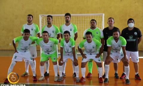 CEC CORUMBAÍBA estreia com vitoria na Copa Goiás de Futsal