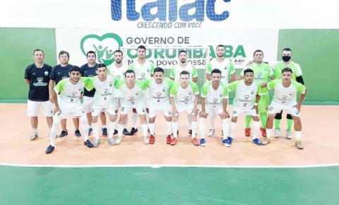 CEC Corumbaíba começa muito bem a Copa Goiás de Futsal e vence a segunda partida