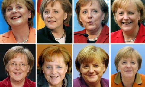 Os quatro mandatos de Angela Merkel, premiê da Alemanha, em FOTOS