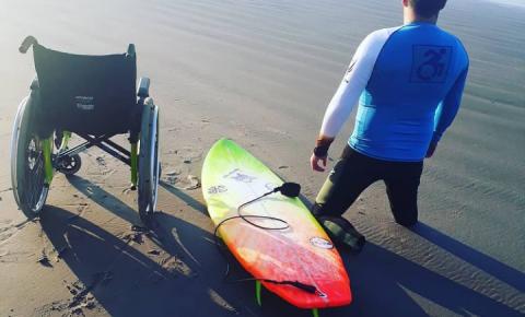 Circuito Sculp APGS de Surf 2021 abre espaço para o surfe adaptado