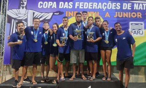 Com atletas da ABDA, São Paulo é campeão juvenil da Copa das Federações