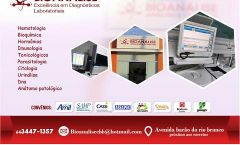 Laboratório Bioanálise em  Corumbaíba