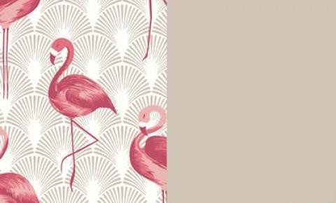 Maneiras para trazer a tendência do flamingo para o décor