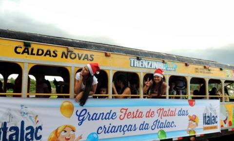 Festa de Natal as Crianças da Italac