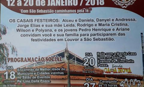 Festa de São Sebastião 2018 em Corumbaíba