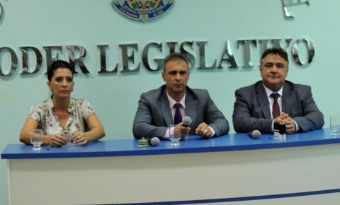 Eleição Nova Mesa Diretora Câmara Municipal de Corumbaíba