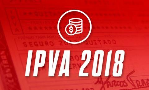 SECRETARIA DE ESTADO DA FAZENDA ALERTA PARA VENCIMENTO DE IPVA