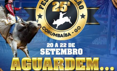 Confirmada a data da 25ª Festa do Peão de Corumbaíba