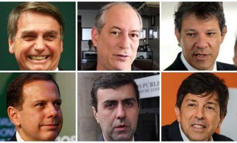 10 possíveis candidatos a presidente em 2022