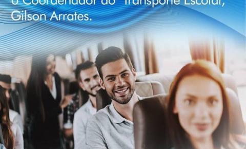 Inscrições abertas para o Transporte Escolar Universitário de Corumbaíba
