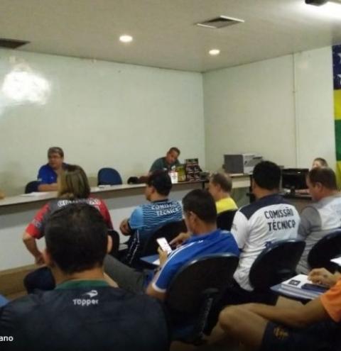 Congresso Técnico para o Campeonato Goiano de Futsal 2019