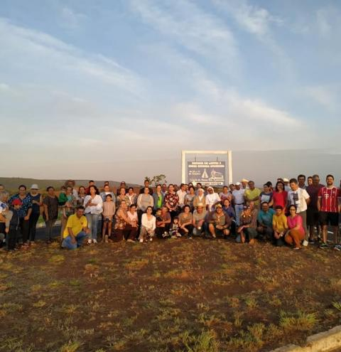 Romaria de Nossa Senhora Aparecida no município de Corumbaíba