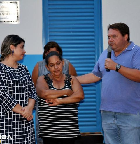 """O Prefeito Wisner Araújo realizou, a entrega de mais uma casa popular do """"Minha Nova Casa"""", programa que tem feito muitas famílias mais felizes no município"""