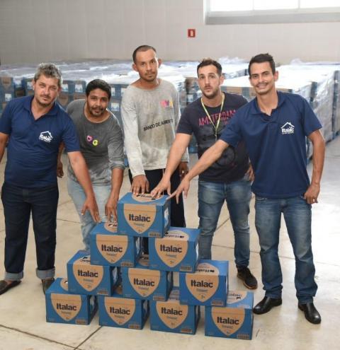 A solidariedade une empresas de Corumbaíba