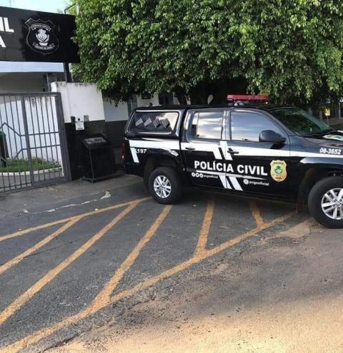 POLICIA CIVIL DE CORUMBAÍBA APOIO DE MARZAGÃO E CALDAS NOVAS PRENDEU EM MARZAGÃO JOVEM SUSPEITO DE COMETER VÁRIOS FURTOS NA CIDADE E EXTORQUIR UM EMPRESÁRIO DE MARZAGÃO