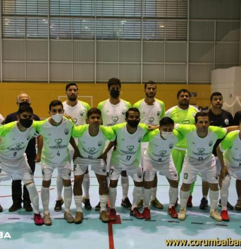 CEC CORUMBAÍBA vence a equipe do Araguaia fora de casa e mantém 100% de aproveitamento na Copa Goiás de Futsal