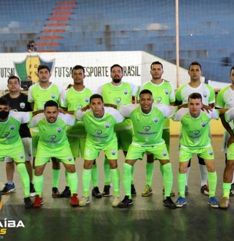 CEC CORUMBAÍBA joga bem e vence na estreia do campeonato Goiano contra a equipe ANSEF/SINPF GO